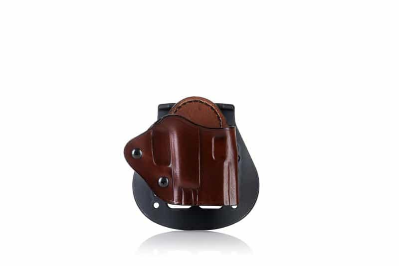 OWB leather paddle holster