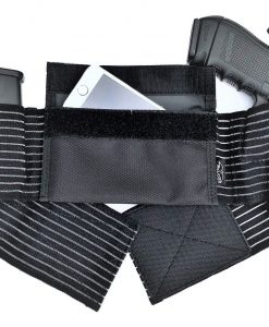 Belly band holster breathable