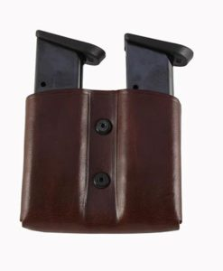 Leather Double magazine pouch
