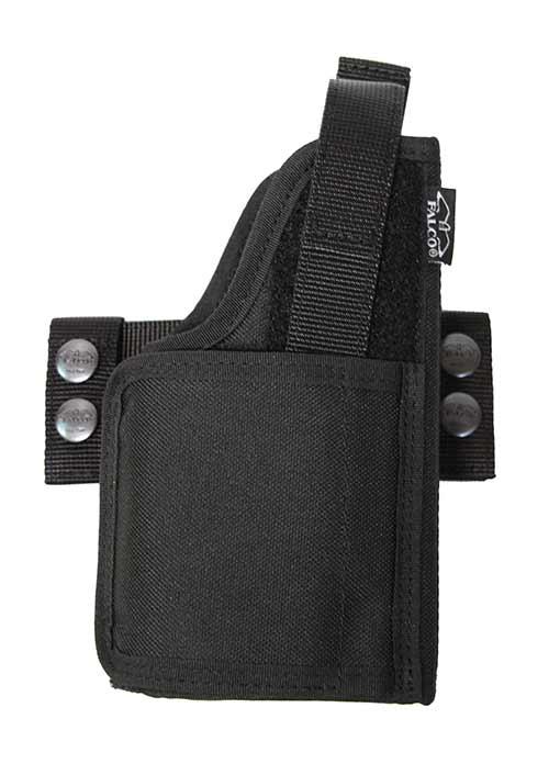 Universal nylon holster for gun with light / laser