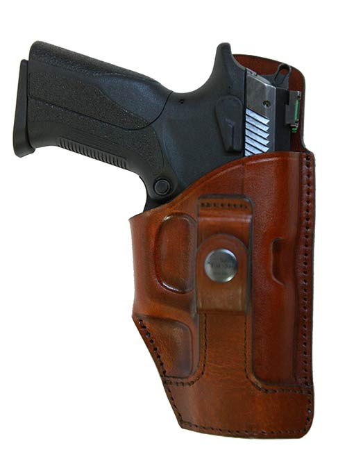 IWB tuckable leather holster