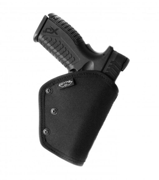 Belt holster with security lock