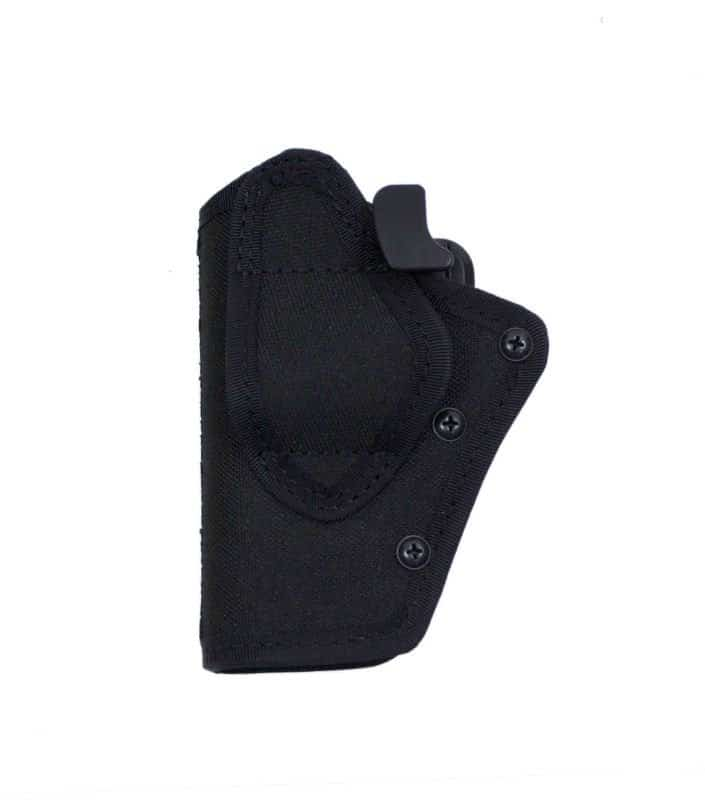 Plastic holster with security lock