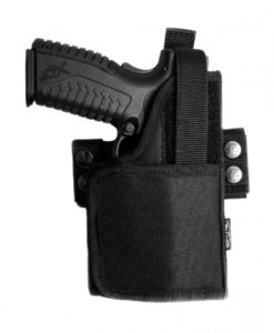 Universal nylon holster for gun with light/laser