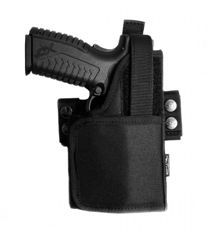 Universal nylon holster for gun with light/laser