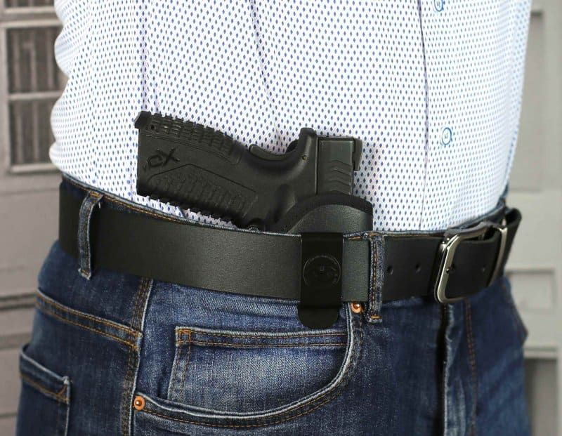 IWB open top nylon holster