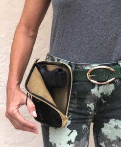 waist pouch for concealed gun carry medium