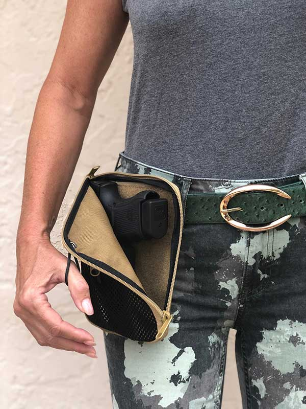 waist pouch for concealed gun carry medium