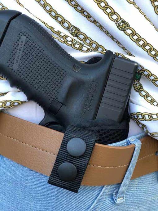 IWB tuckable nylon holster