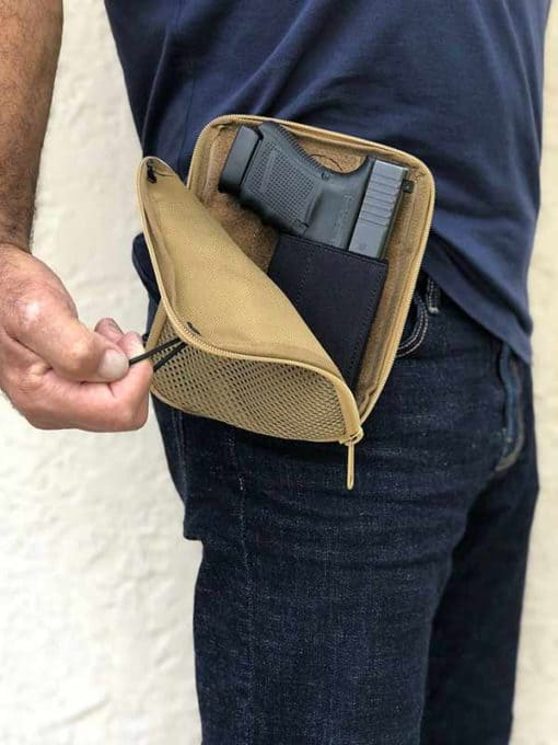 waist pouch for gun carry