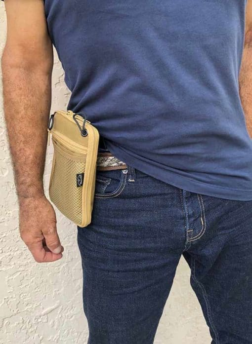 waist pouch for concealed gun carry