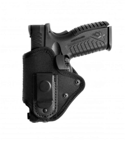 OWB plastic / nylon holster with security lock
