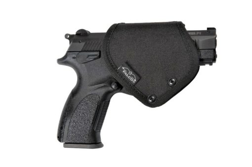 OWB holster with security lock